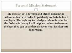 Examples Of Personal Mission Statements For Career S Career Portfolio