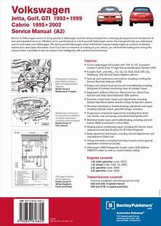 Back Cover Vw Volkswagen Repair Manual Jetta Golf