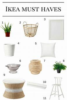 Must Home Items Favorite Ikea Items Arinsolangeathome