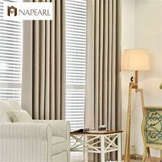 Bedroom Window Curtains Napearl Linen Curtains Modern Blackout Bedroom Curtains