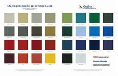Wrisco Aluminum Color Chart Aluminum Stadium Coatings Amp Finishes Southern Bleacher