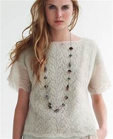 a crush on lace knit top allfreeknitting