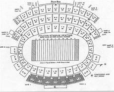 Af Falcon Stadium Seating Chart Air Force Falcon Stadium Seating Chart