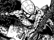 spider comics coloring page wecoloringpage