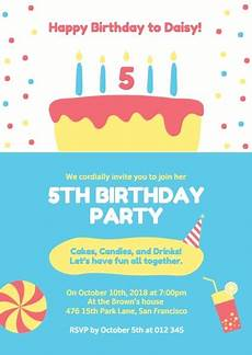Making Party Invitations Online Online Birthday Party Invitation Template Fotor Design Maker