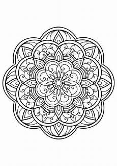 mandala from free coloring books for adults 14 mandalas