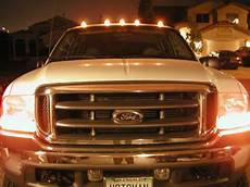 Installing Cab Lights 2017 F250 F250 Factory Clearance Light Install