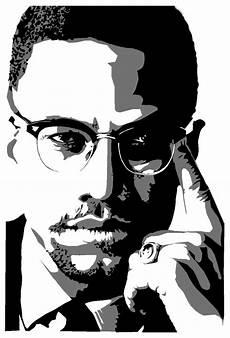 Malcolm X Designs Malcolm X Stencils By Fatratking On Deviantart