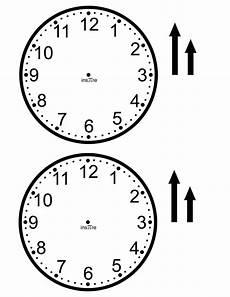 Template Clock Clock Template Clock Template Clock Face Printable