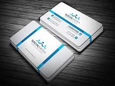 Social Media Business Card Social Media Business Card Template Template Catalog