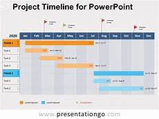 Project Management Timeline Example Project Timeline For Powerpoint Presentationgo Com