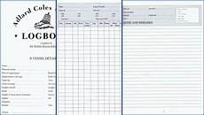 Ship Log Book Template See Main Content Pages