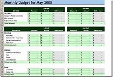 Budget Speadsheet 10 Free Household Budget Spreadsheets For 2018