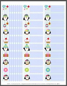 Avery 5160 Christmas Labels Holiday Labels Set With Penguins By Anythingbutperfect Com
