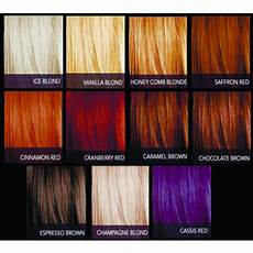 Sebastian Cellophanes Color Chart Sebastian Cellophanes Color Chart Color De Cabello