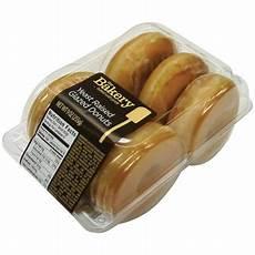 Walmart Donuts The Bakery Yeast Raised Glazed Donuts 9 Oz Walmart Com