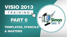 Visio 2013 Stencils Visio 2013 For Beginners Part 6 How To Use Templates