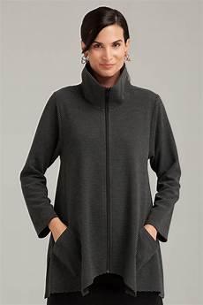 cloth coats sassy striped sassy cowl jacket by f h clothing co knit