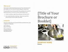 Booklet Template Word Booklet