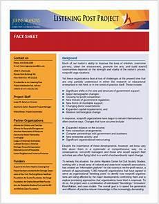 Fact Sheet Template Publisher Fact Sheet Templates 16 Free Printable Templates