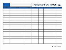 Inventory Checkout Form Free Detailed Equipment Check Out Wide From Formville