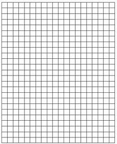 1 Square Graph Paper Square Paper Print Centimeter Grid Paper With Images