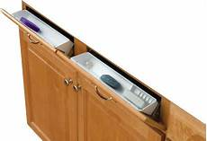 false front tip out trays with hinges white