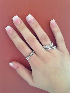 prom negle set acrylics ombre faded manicure with