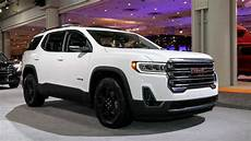 gmc acadia 2020 review 2020 gmc acadia refresh revealed with new turbo 2 0l engine