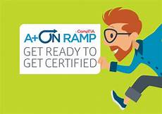 comptia continuing education program activity chart simplifying the certifications process with comptia a on ramp
