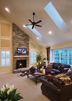 Decorate Fireplace Lighting Image Result For Fireplace On Slanted Wall Living Room