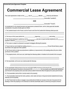 Example Lease Agreement 26 Free Commercial Lease Agreement Templates Template Lab