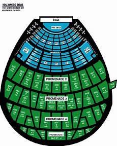 Hollywood Bowl Terrace Seating Chart Hollywood Bowl Seating Chart Hollywood Bowl Events