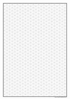 Drawing Grid Template Printable Isometric Graph Paper Isometric Paper