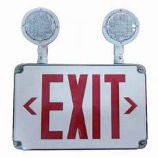 Location Exit Light Combo Industrial Electrical Supply Morris Products