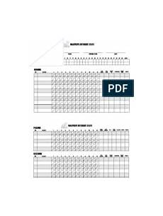 Charting Football Plays Templates Football Offensive Play Chart