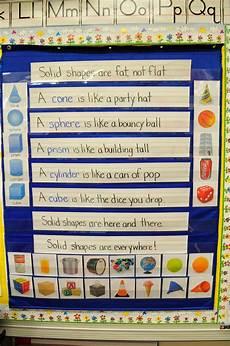 Pocket Chart Poems For Kindergarten Mrs Ricca S Kindergarten Solid Shapes Freebie