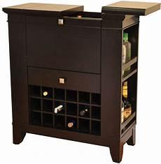 espresso spirit cabinet from eci furniture