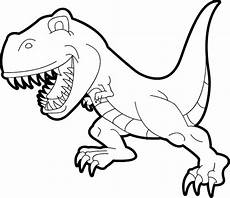 Malvorlage Dinosaurier Rex Dinosaurs T Rex Coloring Pages Bubakids