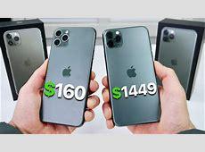 $160 Fake iPhone 11 Pro Max vs $1,449 11 Pro Max! (NEW