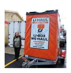 U Haul U Box U Haul U Box Moving And Storage Containers In Salem Ma