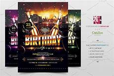 Party Flyer Size Birthday Party Flyer Poster Creative Flyer Templates