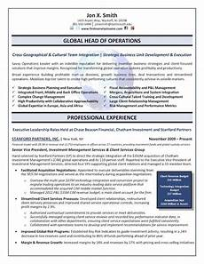 Big 4 Resume Sample The Top 4 Executive Resume Examples Written By A