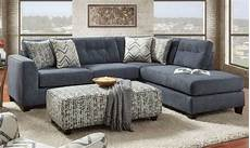 Blue Sectional Sofa 3d Image by Sensation Slate Blue Chaise Sectional Sofa Haynes Furniture