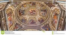 rome the fresco on the vault of chapel of st giacinta