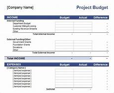 Project Budget Template Excel 11 Sample Budget Templates In Excel Sample Templates