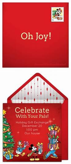 Disney Themed Party Invitations Plan A Heartwarming Disney Christmas Party