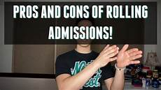 Pre Pa Pre Pa College Pros Amp Cons Of Rolling Admissions Youtube