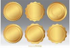 Design A Seal Gold Seal Vector Set Download Free Vector Art Stock