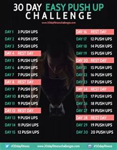 Push Up Chart For Beginners 30 Day Push Up Challenge Common Room
